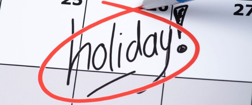 March 2021 State Holidays and Office Closures